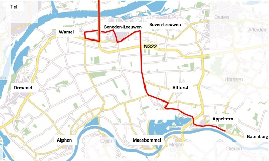 De Giro Italia in Maas en Waal